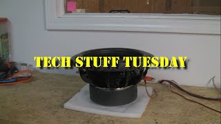 Tech Stuff Tuesday - Subwoofer break in myth busted