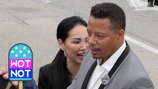 Terrence Howard & New Wife Miranda Pak Make Fans Laugh at the Spirit Awards