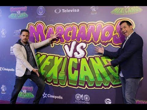 Marcianos vs Mexicanos. Salvaremos al mundo