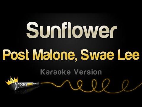 Post Malone, Swae Lee - Sunflower (Karaoke Version)