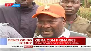 Ten candidates battle up for Kibra ODM party nominations