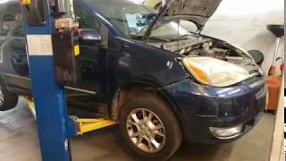 Fixed my Toyota Lights!.  Factory HID Sienna