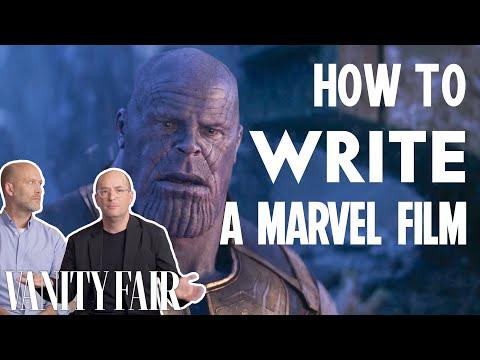 Marvel Writers Explain How They Wrote MCU Blockbusters   Vanity Fair