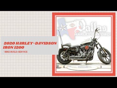 2020 Harley-Davidson<sup>®</sup> Iron 1200<sup>™</sup>