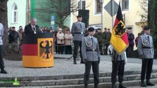 preview picture of video 'Feierliches Gelöbnis der Freyunger Rekruten in Grafenau/ Bayerischer Wald Teil 1'
