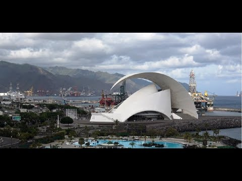 Санта Круз столица Тенерифе. Аудитрио де Тенерифе достопримечательности Канарских островов. Часть1