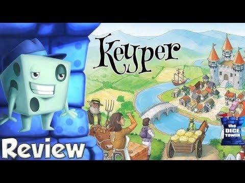 Keyper Review - with Tom Vasel