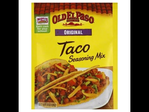How to make Old El Paso Taco Seasoning from Scratch