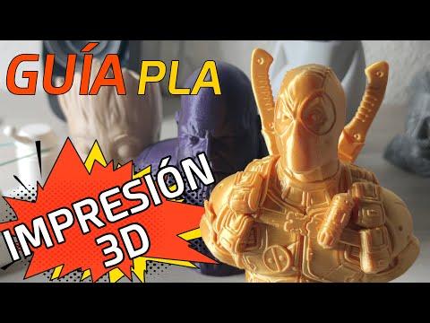 Guia IMPRESORA 3D: Tipos de filamento PLA - Los MEJORES plásticos