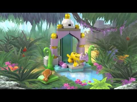 Vidéo LEGO Friends 41042 : Le tigre et son temple asiatique