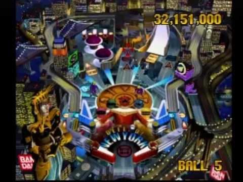 Elemental Pinball Playstation