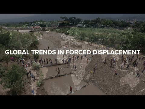 UNHCR's global trends in forced displacement – 2018 figures