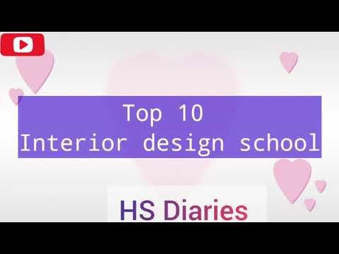 Top 10 interior design schools online