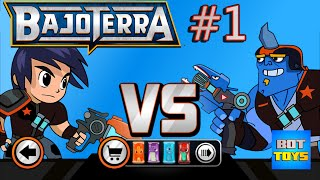 BajoTerra Cap 1 | SLUGTERRA: SLUG IT OUT | juego de babosas para iPhone | Bot Toys