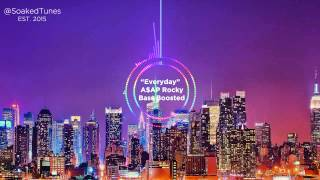 A$AP Rocky - Everyday (Bass Boosted)