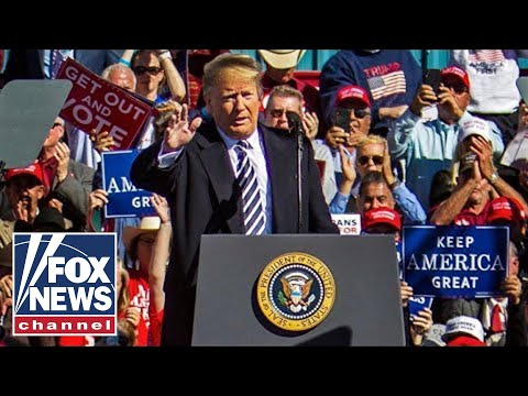Trump hosts 'MAGA' rally in Wisconsin