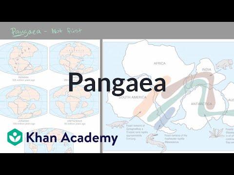 Pangaea Video Plate Tectonics Khan Academy