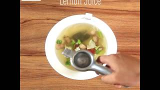 Green Tea Soup Recipe