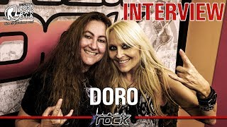 DORO PESCH - interview @Linea Rock 2018 by Barbara Caserta