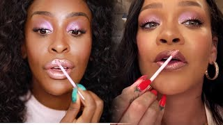 I Did Rihanna's Vogue Beauty Routine! But I'm Still Ugly LOL | Jackie Aina