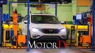 CAR FACTORY : HONDA CR-V PRODUCTION l ASSEMBLY LINE