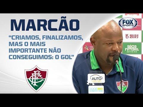 FLUMINENSE AO VIVO! Veja entrevista com Marcão após empate com a Chapecoense