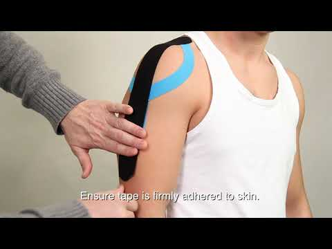 Kalaya Kinetics Relief Tape: How to Apply to the Shoulder