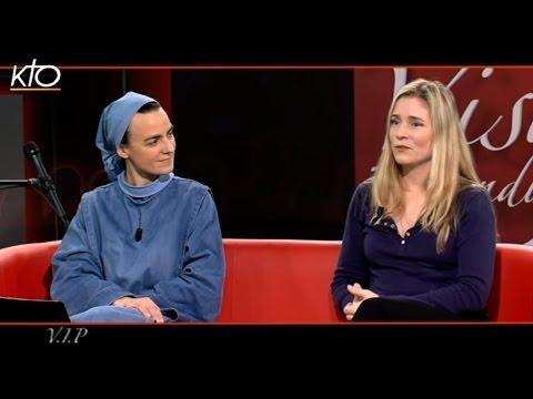 Natacha Régnier et soeur Agathe