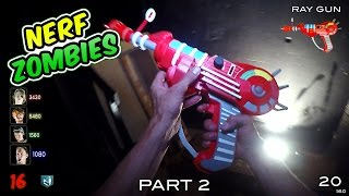 Nerf meets Call of Duty: ZOMBIES 2.0 | Part 2 of 3 (First Person in 4K!)