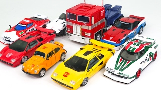 Transformers Masterpiece Optimus Prime Bumblebee Convoy Truck Racing Car Vehicle Robot Car Toys