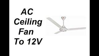 how to make 12v dc motor fan - TH-Clip