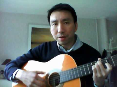 Hallelujah (how to play on guitar easily)