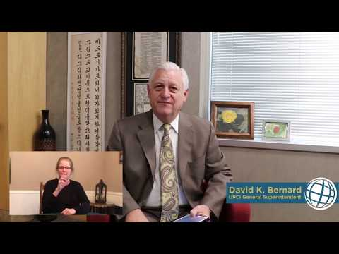 The Church in a Pandemic – UPCI General Superintendent David Bernard