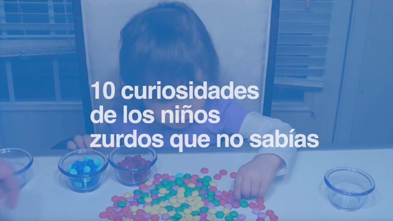 10 curiosidades sobre los niños zurdos que no sabías