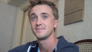 Том Фелтон, interview Tom Felton On Growing Up As Draco Malfoy In The Harry Potter Universe
