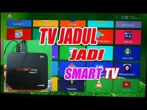 Ubah TV jadul jadi Smart TV dengan ZTE B760h cuma 100rb an