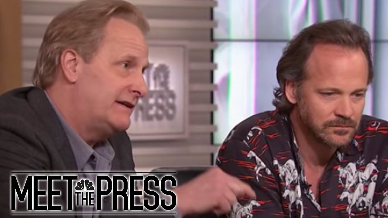 Jeff Daniels And Peter Sarsgaard Talk Woody Allen, 9/11 And #MeToo In Hollywood | MTP Daily | MSNBC thumbnail