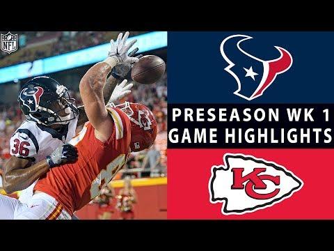 Texans vs. Chiefs Highlights | NFL 2018 Preseason Week 1