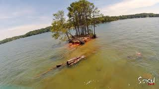 DAY 9: FIRST TIME OVER WATER | Lake Lanier, Georgia | FPV FREESTYLE