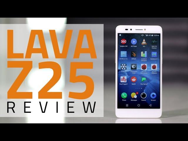 Lava Z25 Review | NDTV Gadgets360 com