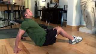 Upper Body Stretch for the Total Trainer Home Gym