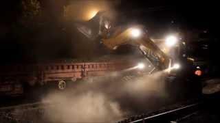 preview picture of video 'Actualité à Mantes-la-Jolie, aménagements et travaux : la voie ferrée modernisée.'