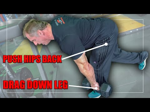 One Leg Romanian Style Dumbbell Deadlift for *AMAZING GLUTES*