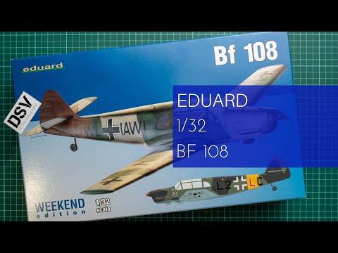 EDUARD 3404 Messerschmitt Bf108 in 1:32