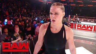 RAW: Rousey marca su territorio en ruta a WrestleMania; Reunión de The Shield; Triple H le contesta