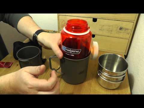 Nalgene Everyday & Esbit Titantopf | Gamping Ausrüstung Gear