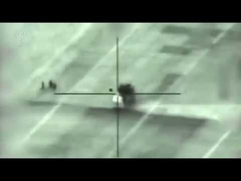 Кадры уничтожения израильскими ВВС ЗРК «Панцирь С1»