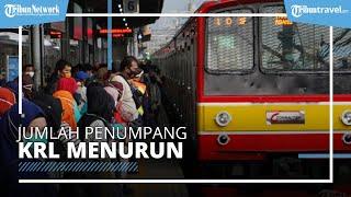 Pengguna KRL Turun 21.000 Orang Saat PSBB Jilid 2, Stasiun di Jakarta Terpantau Sepi