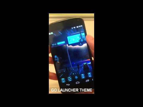 Video of Space Trip GO Dynamic Theme