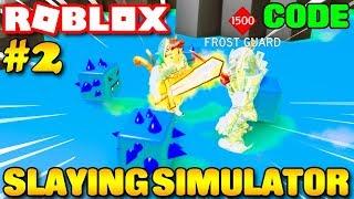 Roblox | MỞ CÁNH CỬA 4 TRIỆU TIÊU DIỆT BOSS LEVEL 1500 - ⚔️ Slaying Simulator (Code) | KiA Phạm